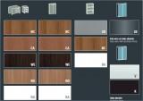 XTime Work - Материалы для Шкафов  - Hi-tech Мебель X-Time Work с ногами RING